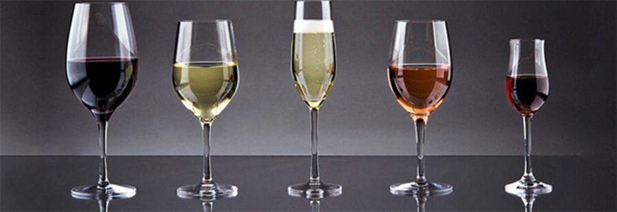 Tipos de taça para vinho