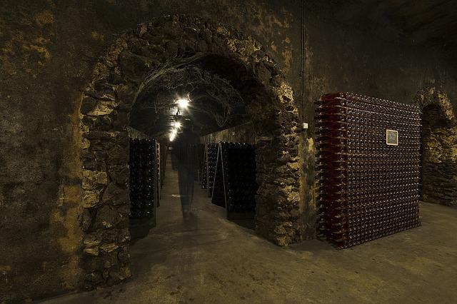 armazenar o vinho