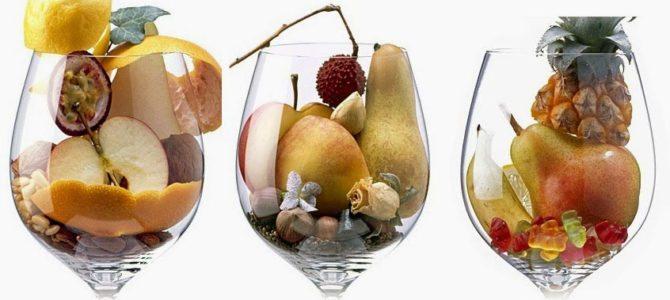 Classificação dos Aromas do Vinho