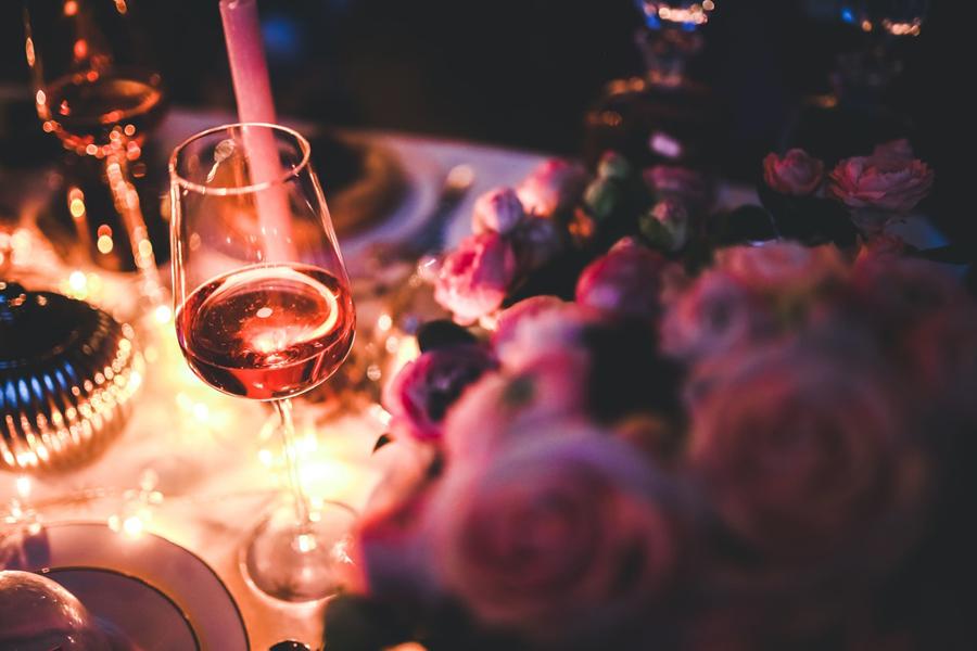 acompanhamento para vinho rose